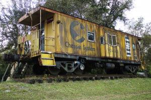 Historic Train Car